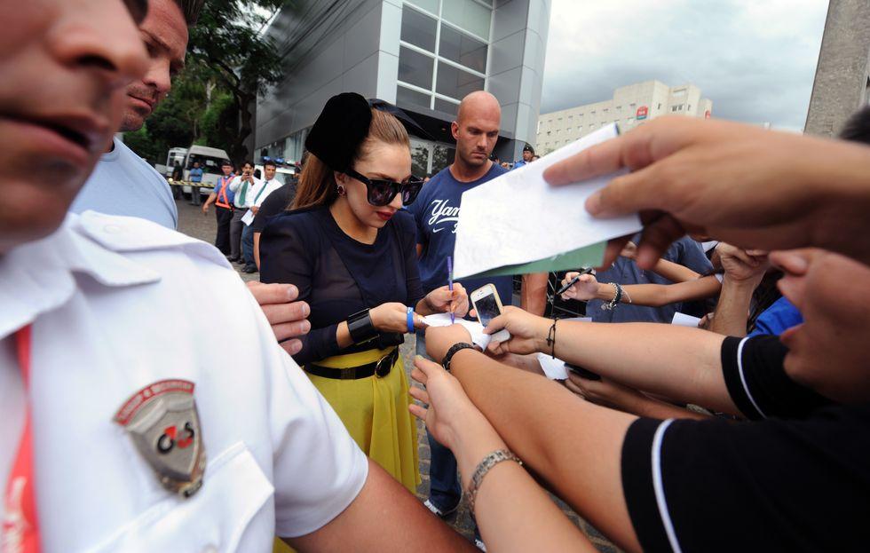 Lady Gaga, un blogger per stalker