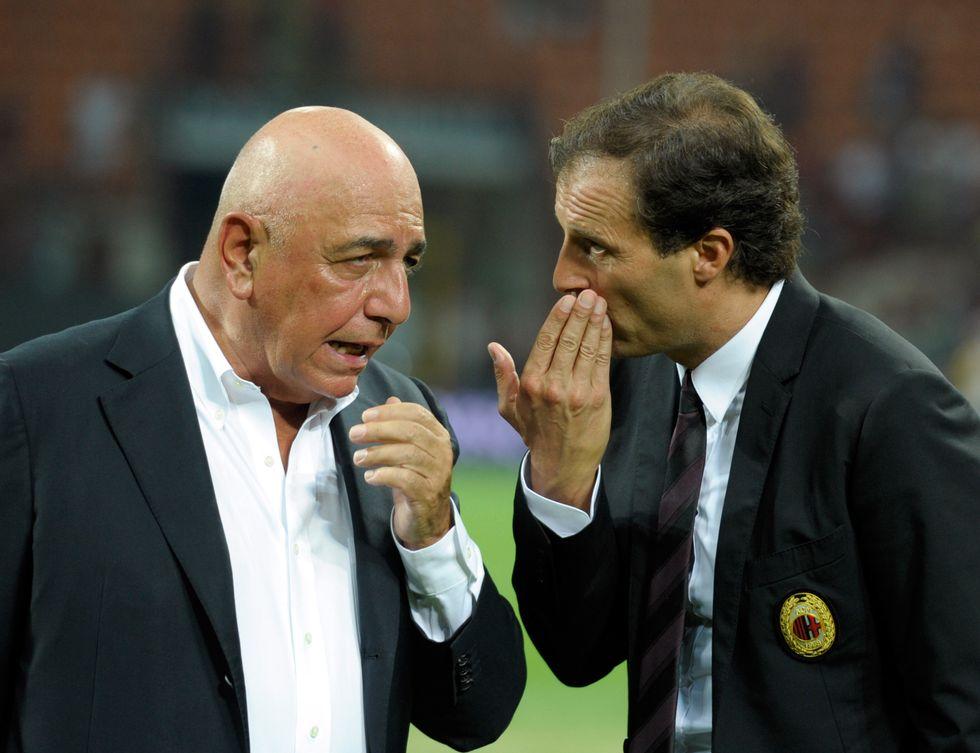 Pace fatta: il Milan resta ad Allegri