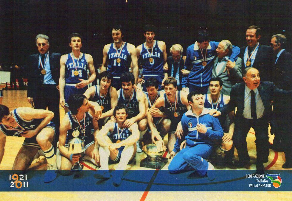 Basket, 30 anni fa l'oro di Nantes. E oggi?