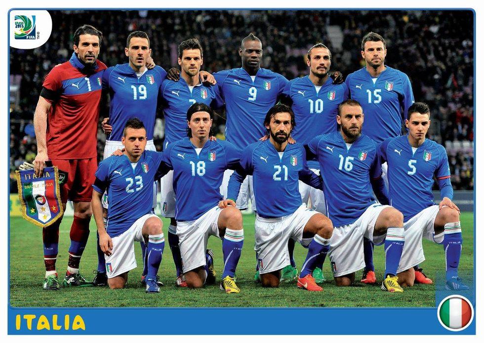 Panini presenta le figurine della Confederations Cup