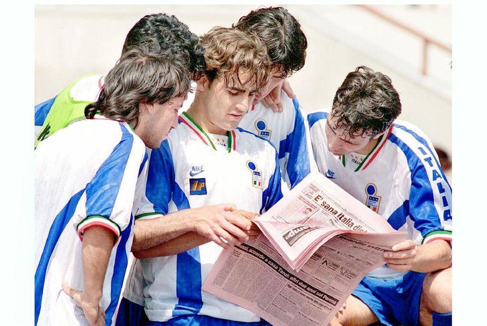 Il sogno dell'Under 21 sulle orme di Pirlo, Maldini, Vialli, Cannavaro...