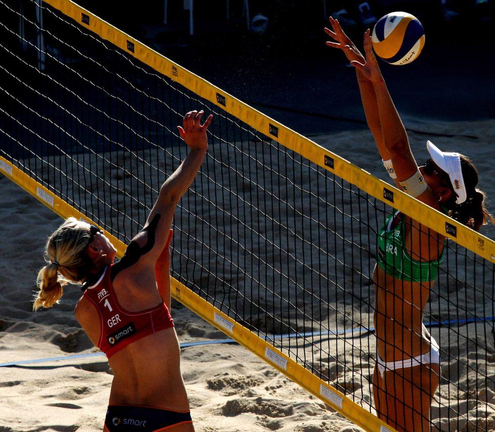 Grand Slam beach volley: le immagini più belle