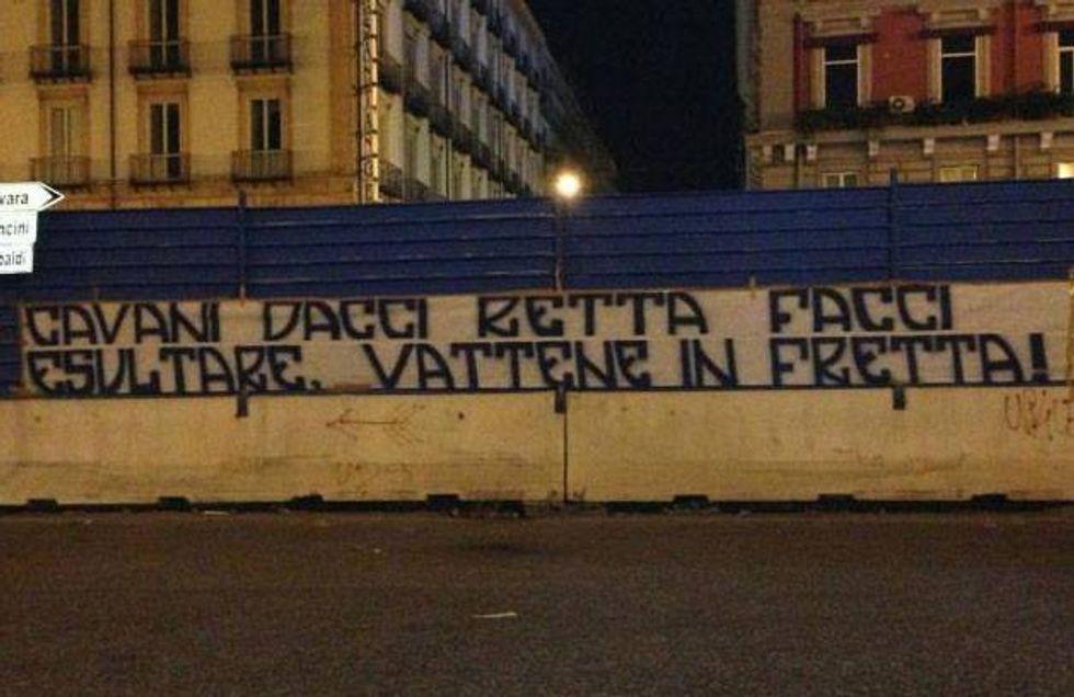 Striscioni contro Cavani, il Napoli punta Suarez