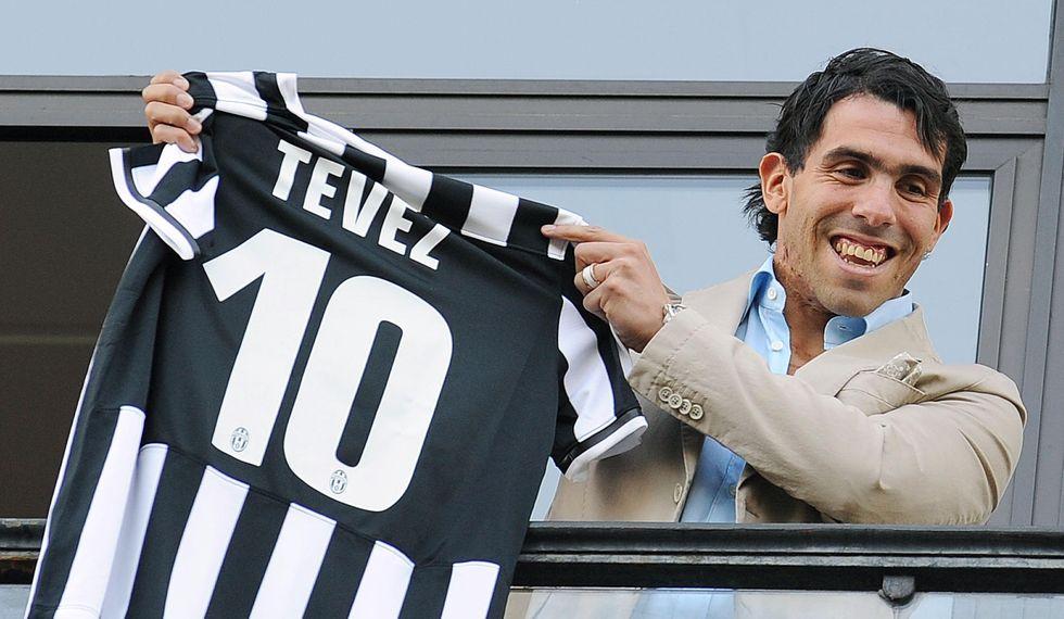 Tevez è arrivato: le prime foto