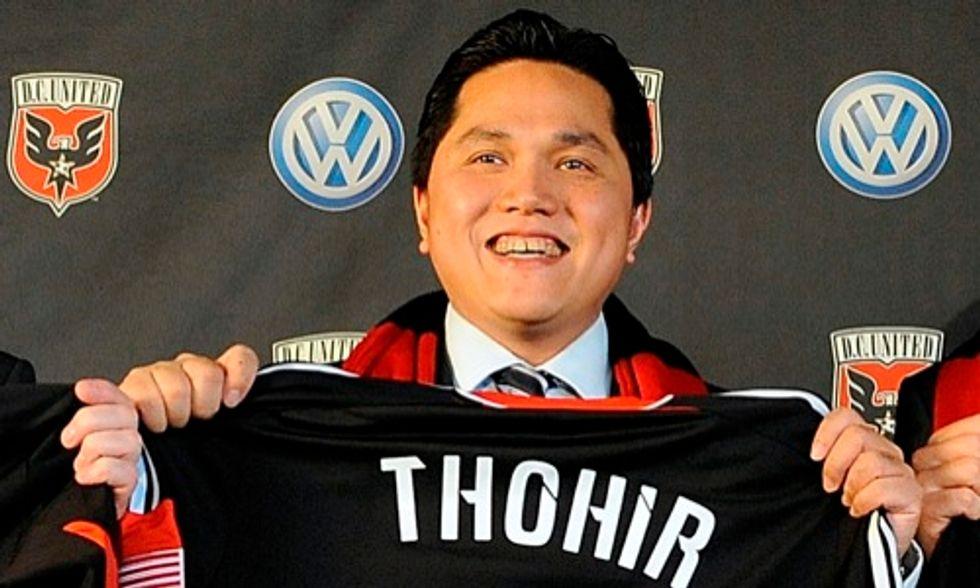 Erik Thohir acquista il 40% dell'Inter