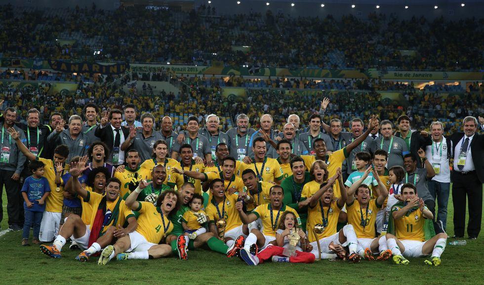 Le immagini più belle della Confederations Cup