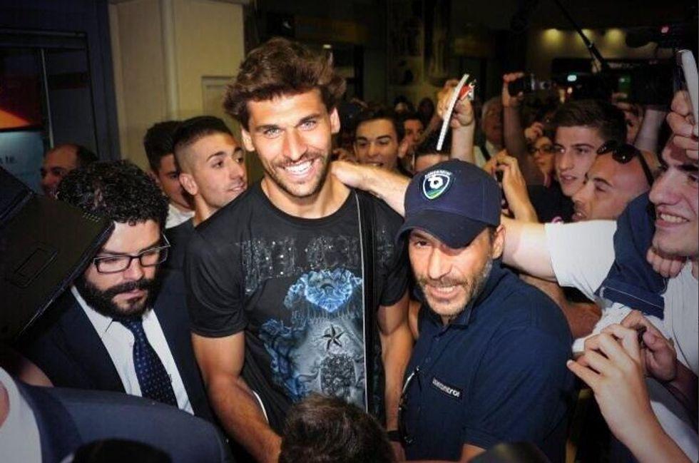 Fernando Llorente è arrivato a Torino
