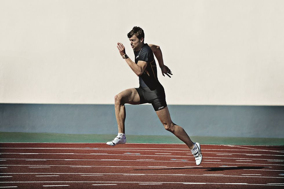 Christophe Lemaitre, il bianco che sfida Bolt