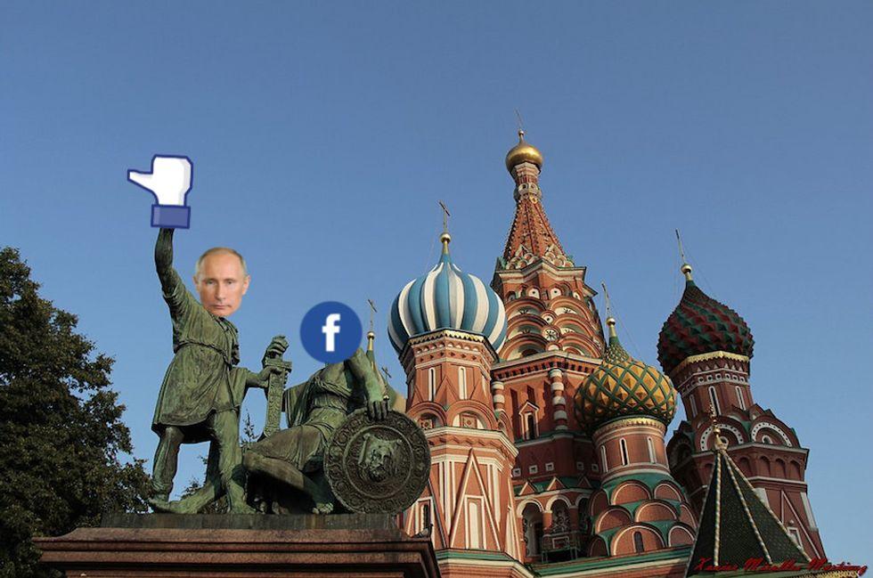 putin russia facebook