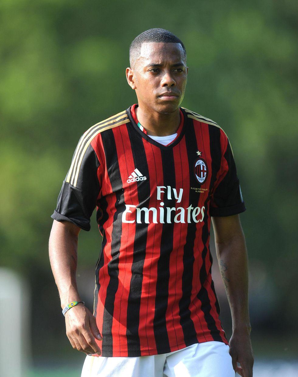 Robinho al Milan fino al 2016