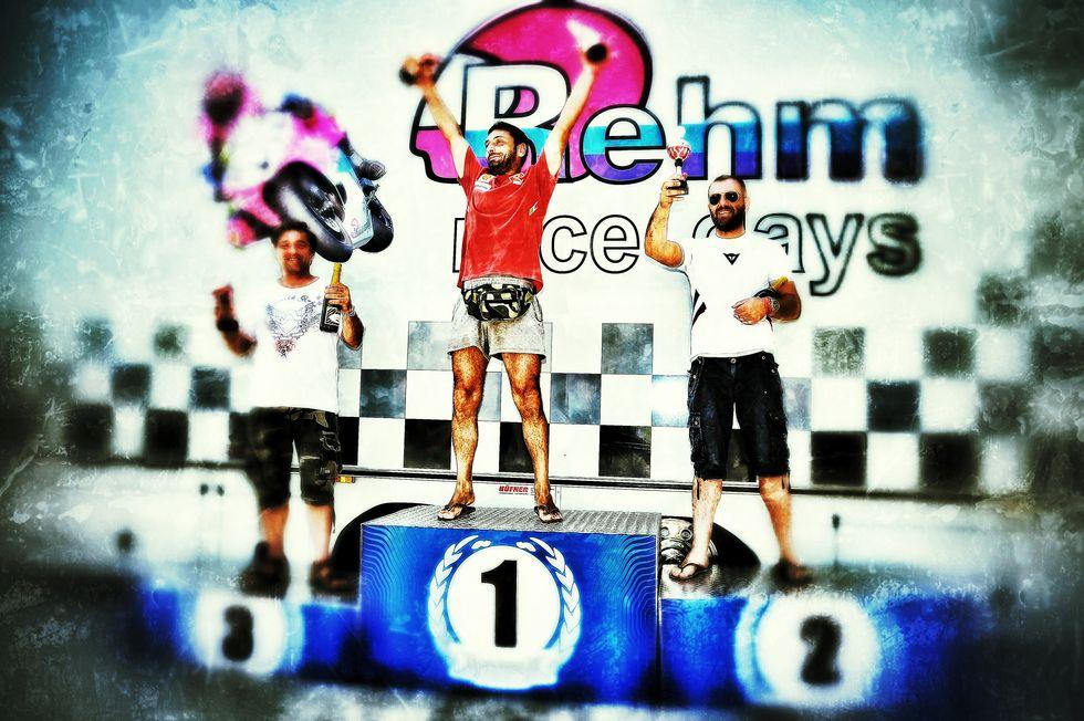 Rehm Race Days 2013: primo podio a Misano