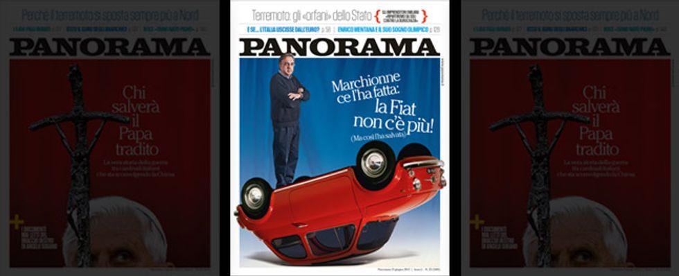 Marchionne: la Fiat lontana dall'Eurozona