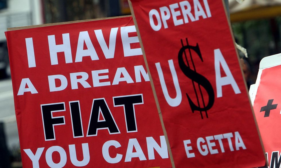 Fiat e il falso mito dell'italianità