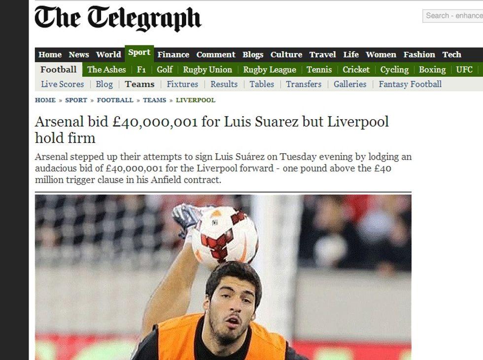 L'Arsenal vira su Suarez, Higuain è del Napoli