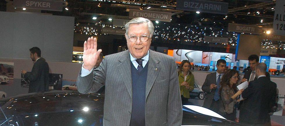 Morto Sergio Pininfarina, il padrone gentiluomo simbolo dell'italian look