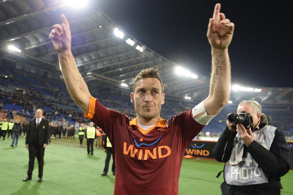 Roma, Totti fino al 2016