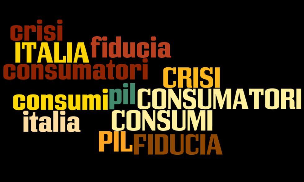 Il Italia: crollano consumi e fiducia