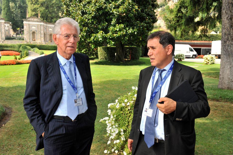 """Nouriel Roubini: """"Situazione complicata, ma l'Italia ce la può fare e Monti è l'uomo giusto"""""""