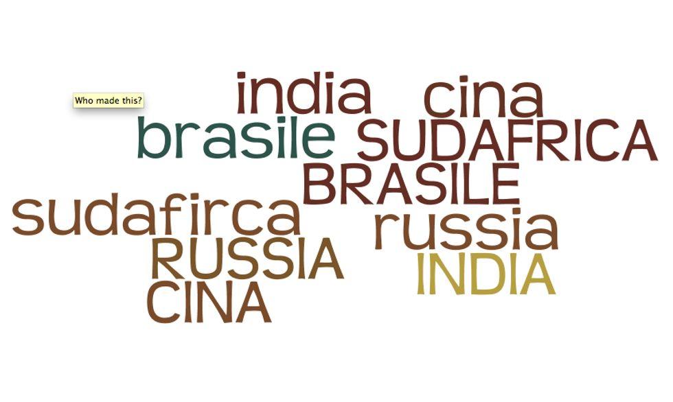I Brics, paesi sempre meno emergenti