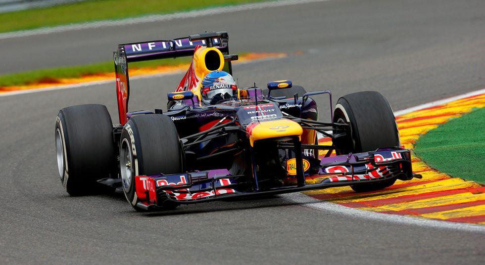 Spa tutta per Vettel