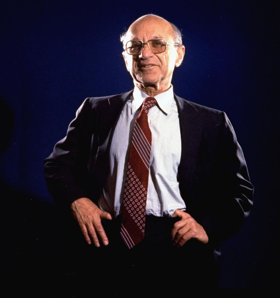 Friedman: crisi, tasse e libertà