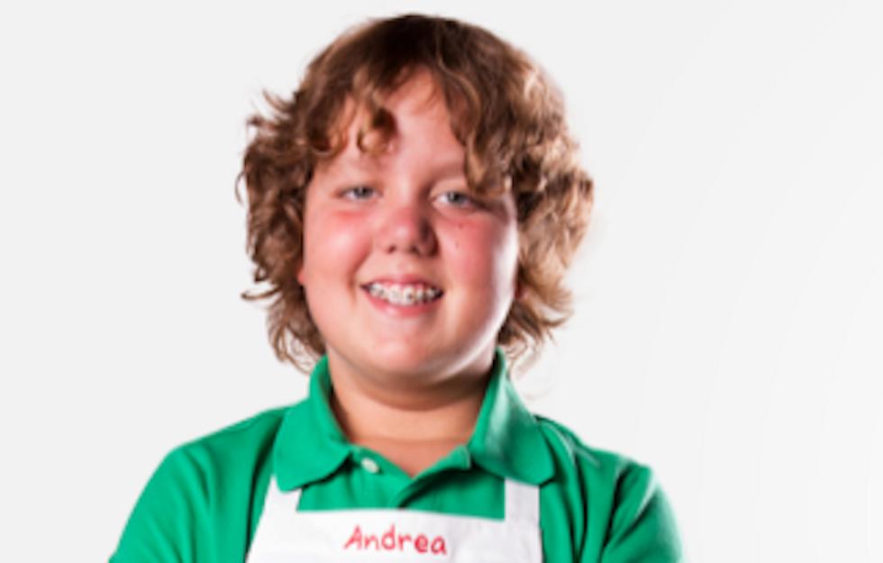 Andrea Pace MasterChef junior