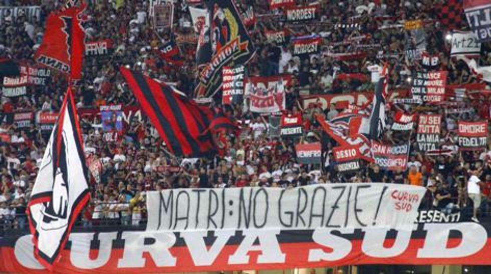 """Milan, il Barone: """"Ecco perché la Curva non vuole Matri"""""""