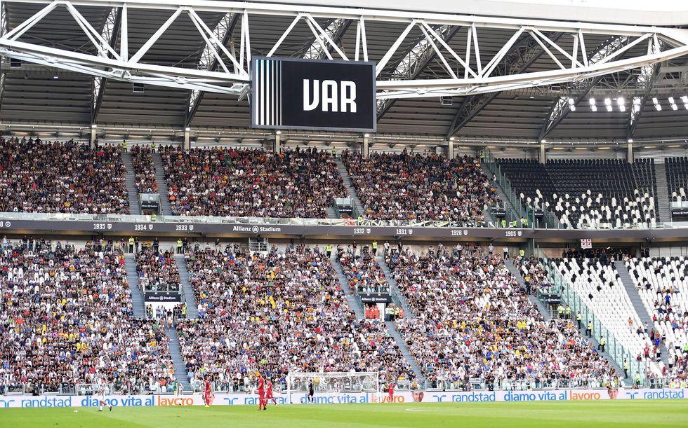 Var serie A rigore Juventus maresca