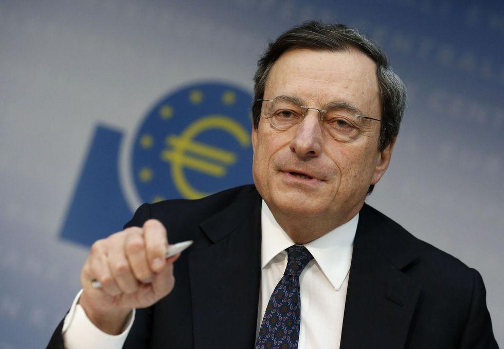 Mario Draghi e il tetto allo spread