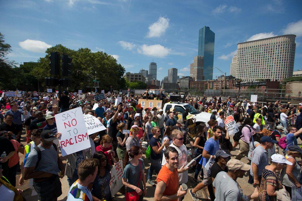 Boston: in migliaia contro l'estrema destra - FOTO