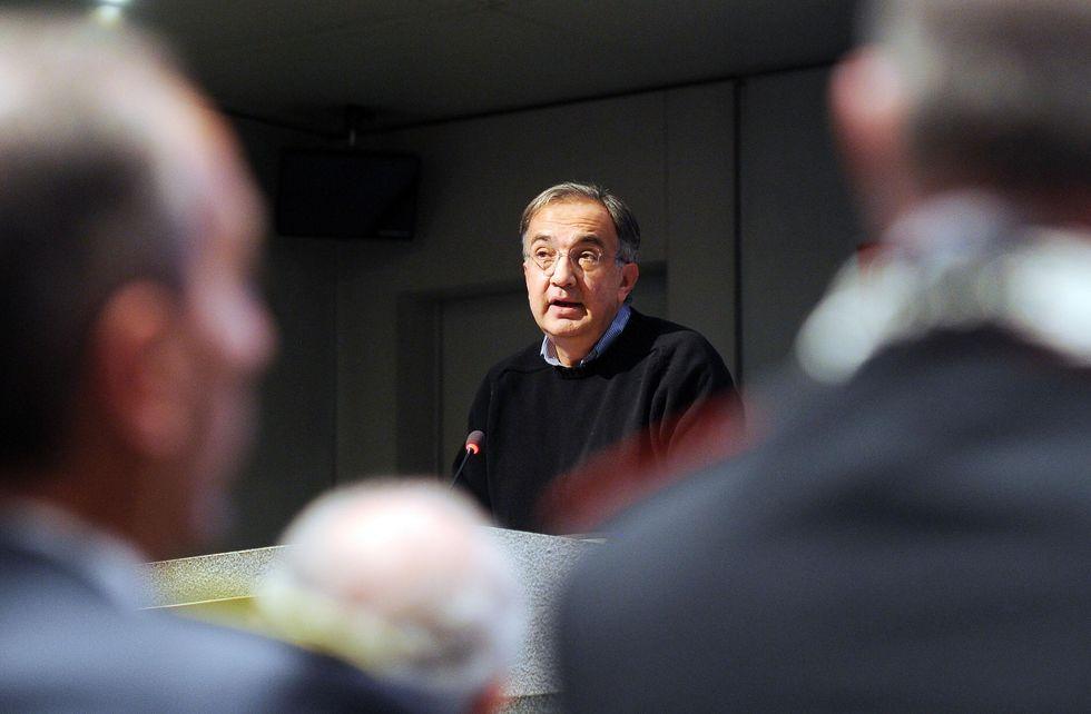 Sergio Marchionne e il discorso da Re