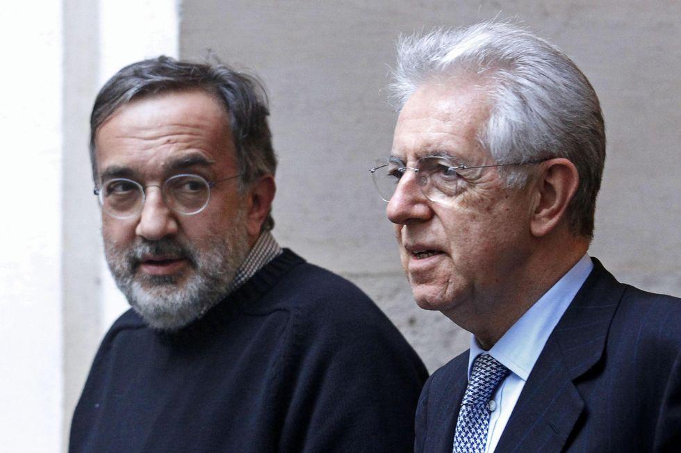 Marchionne-Monti, prove di dialogo (immaginario) sul futuro di Fiat