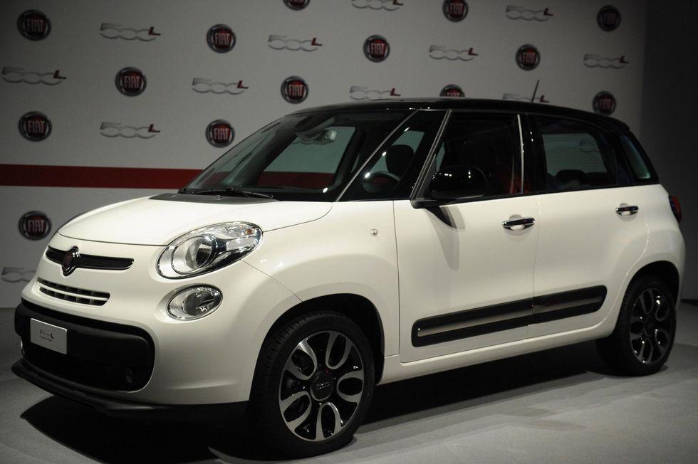 Fiat 500L, la scommessa di Marchionne