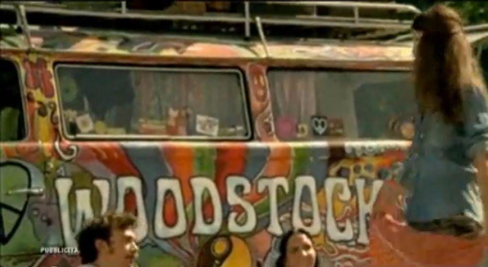 Ing Direct, per il Conto arancio lo spot è a Woodstock