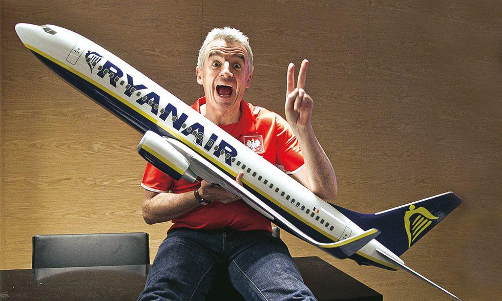 Ryanair e Michael O'Leary: tutti ci accusano perché siamo i migliori