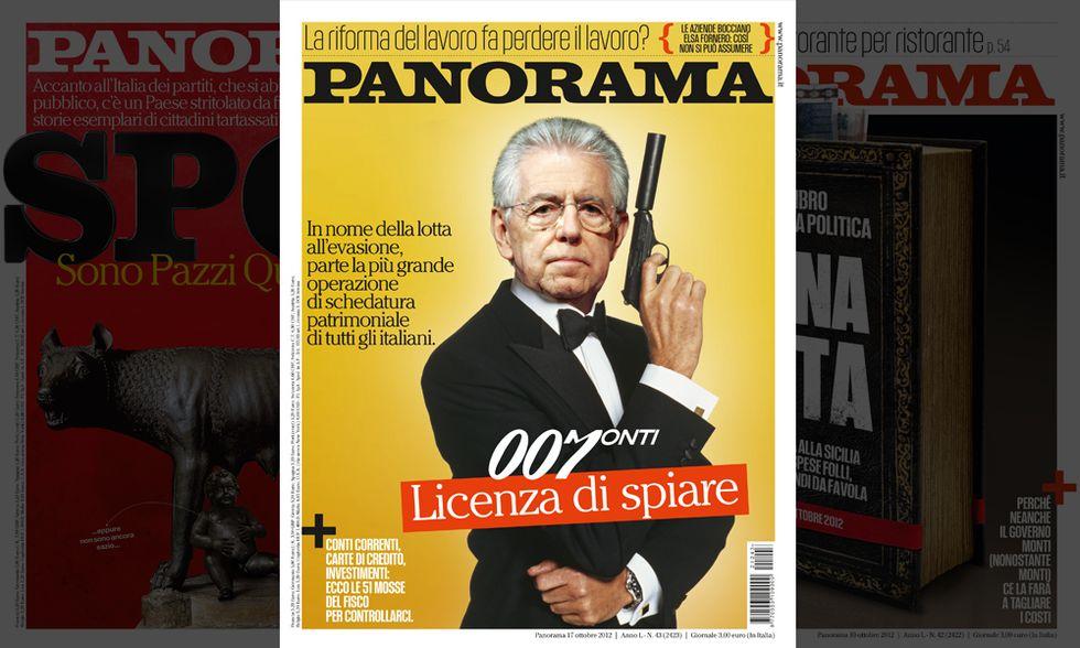 Monti, lo 007 con licenza di spiare