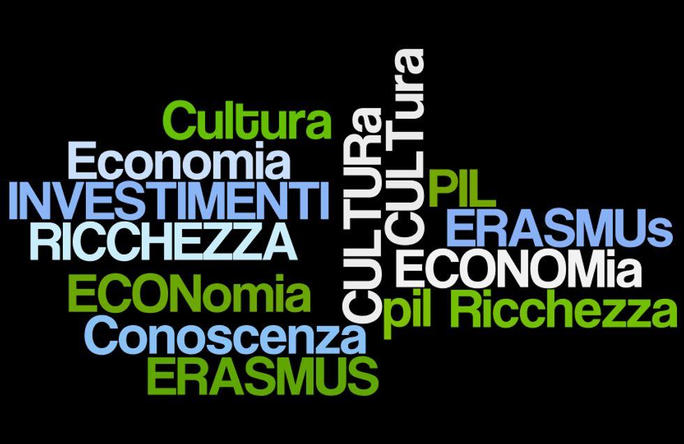 Erasmus senza soldi: ma la cultura fa bene all'economia