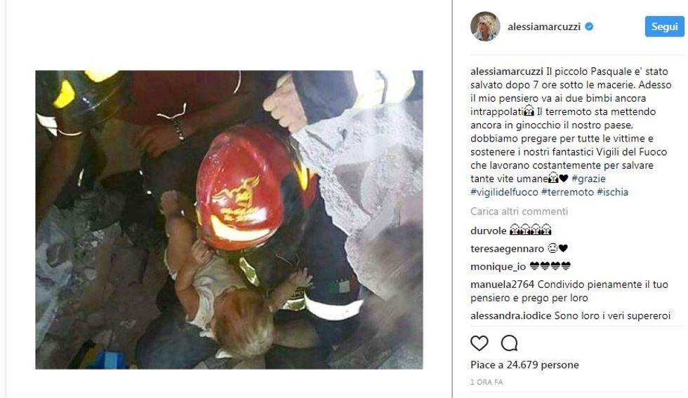 Terremoto a Ischia, la reazione dei social network