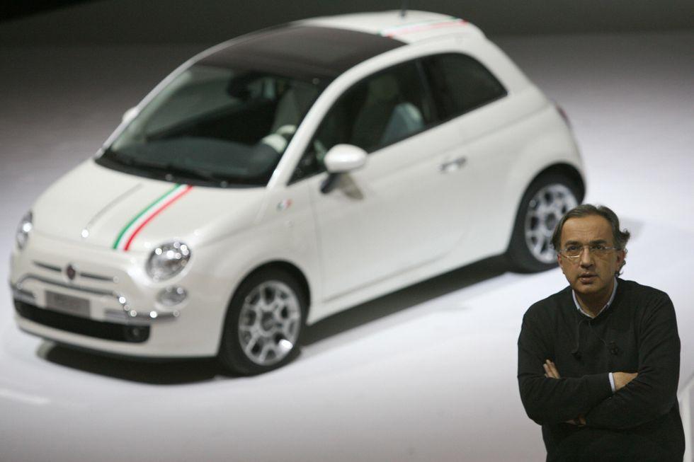 Sergio Marchionne, Fiat e la comunicazione-disastro