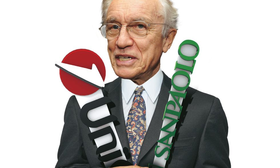 Intesa-Unicredit: il folle sogno di 'padre' Giovanni Bazoli