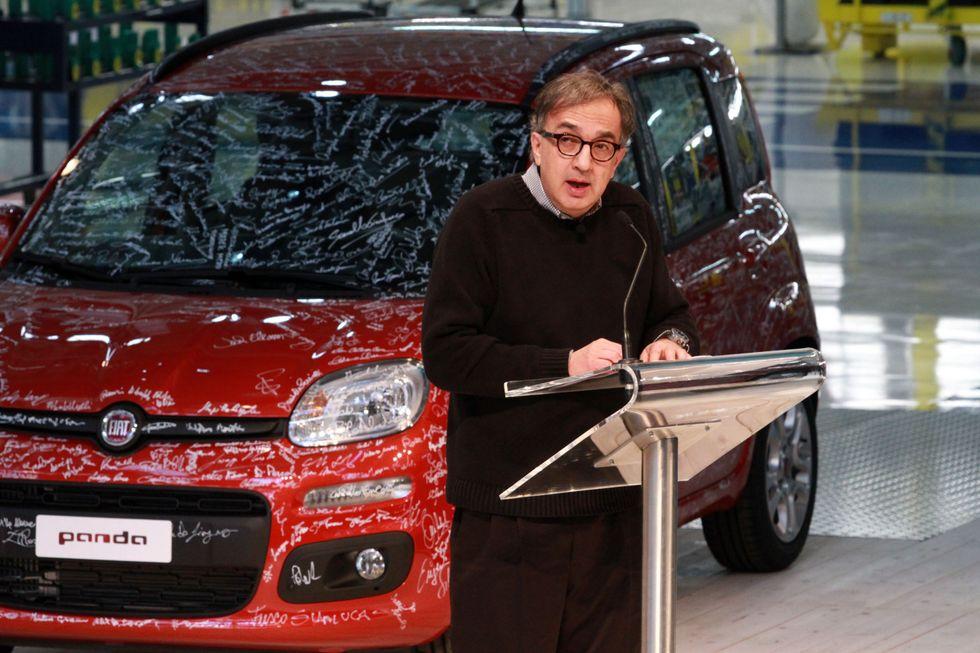 Fiat Panda, vendite e premi a Pomigliano