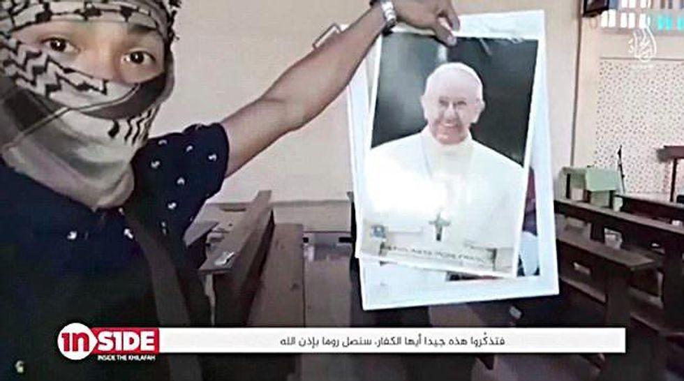 Isis minaccia il Papa