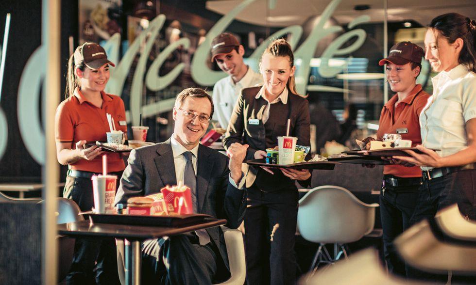 McDonald's e Roberto Masi: 'Io ne assumo altri 3 mila'