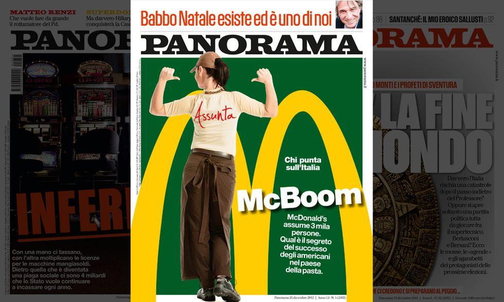 McDonald's: io ne assumo altri tremila. Il nuovo numero di Panorama