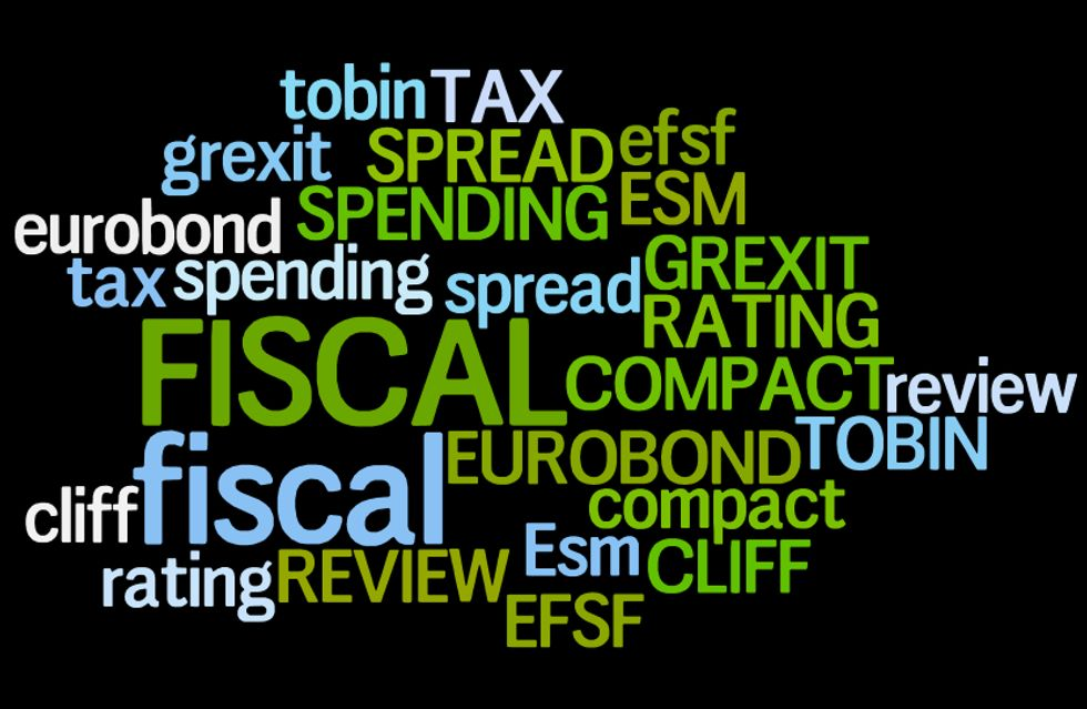 Dallo spread al fiscal cliff, le dieci parole del 2012