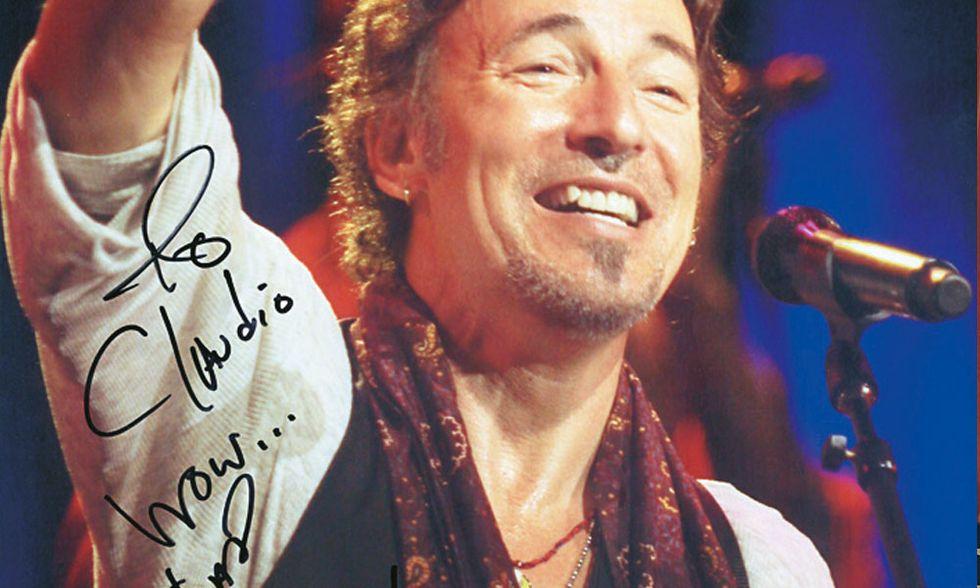 Claudio Trotta: quando Bruce Springsteen la notte scappa dai bodyguard