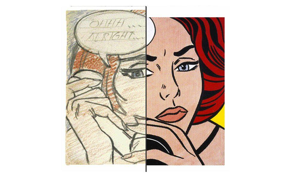 Il talento di Lichtenstein nelle retrospettiva allo Chicago Art Institute