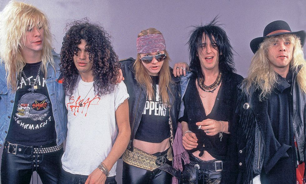 Rock: la guerra dei Guns'n Roses