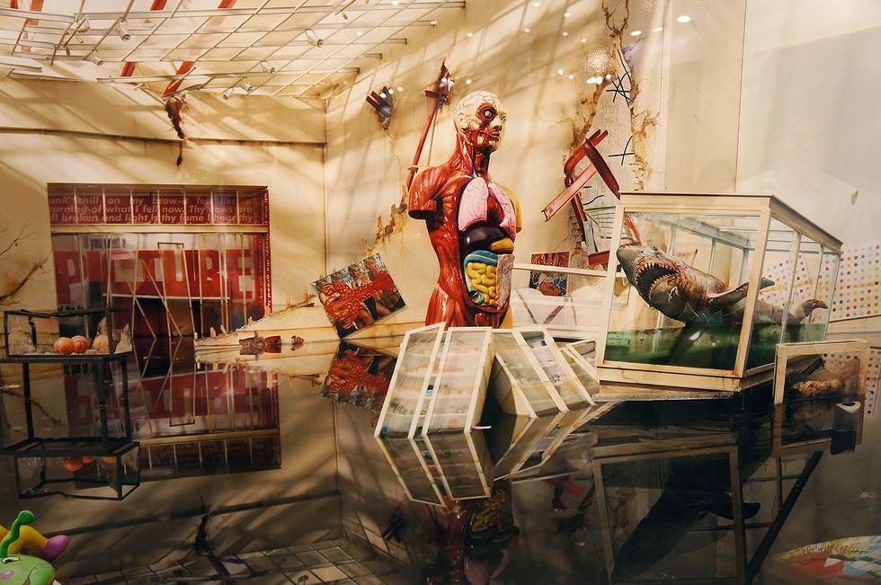 Arte, LaChapelle distrugge l'arte contemporanea