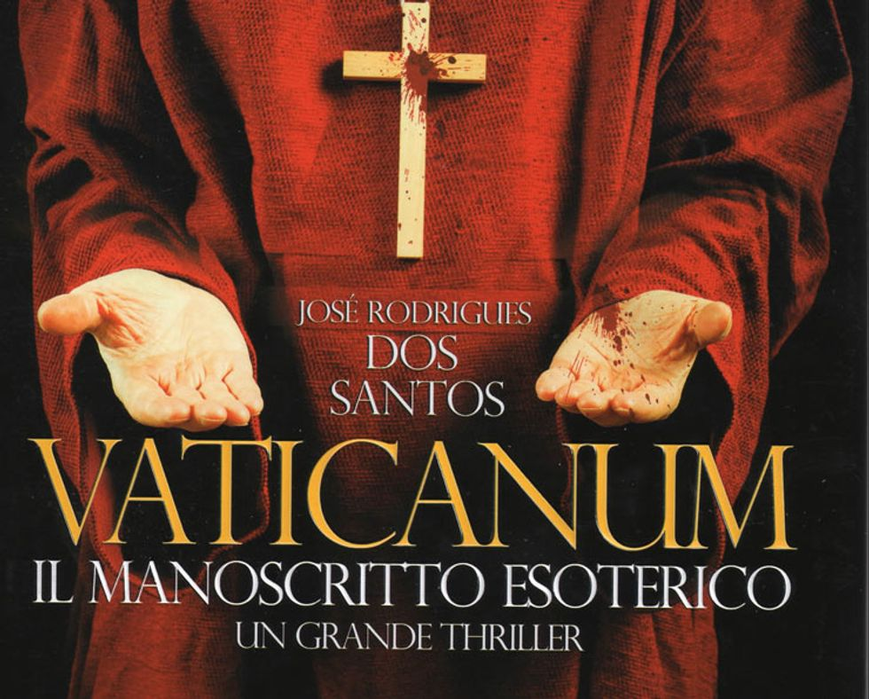 """""""Vaticanum. Il manoscritto esoterico"""", un thriller alla Dan Brown"""
